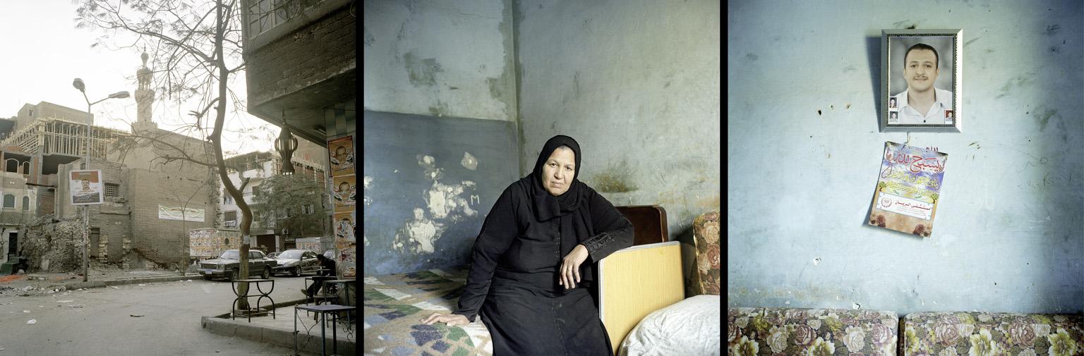 Untitled 2014 (From Egypte les martyrs de la révolution) photographie de Denis Dailleux