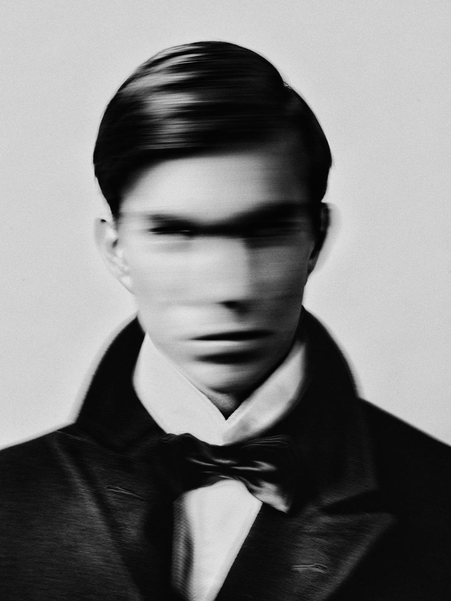Black & White fotografia di Bastiaan Woudt, ritratto, uomo, Carlos, astratto 2014