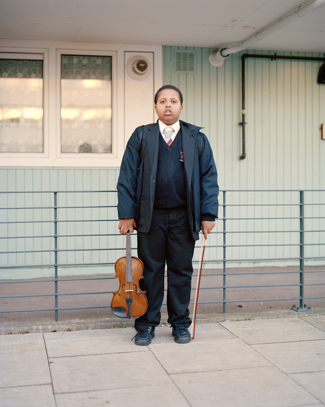 Cian Oba Smith color, film photography, portrait, youth, boy Andover & Six Acres, housing estates north London