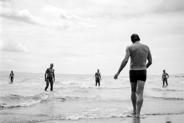 Black & white Fotografía de película, documental, calle, PEOPLE, playa, Split, Croacia