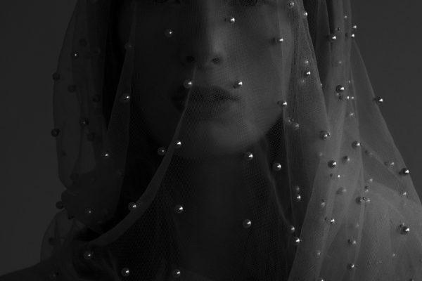 Black & white fotografía, retrato, estudio, cuerpo, mujer