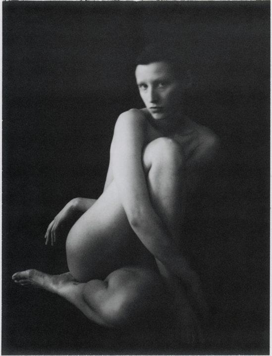 Black & white fotografía de película, retrato, estudio, cuerpo, mujer