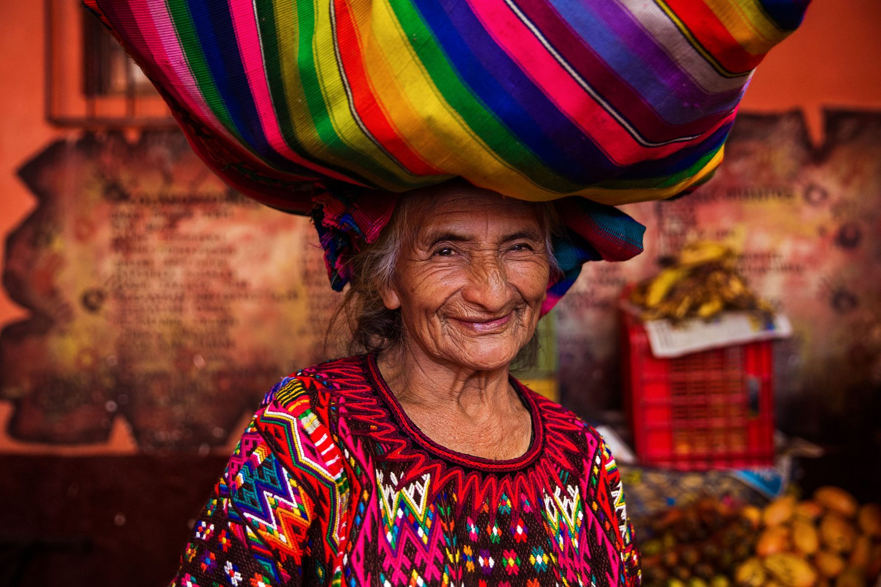 A woman from Guatemala -portrait photography in color by Mihaela Noroc, the atlas of beauty series