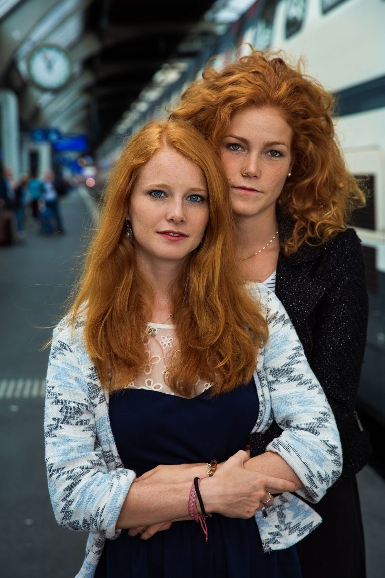 two women from Switzerland -portrait photography in color by mihaela noroc, the atlas of beauty series