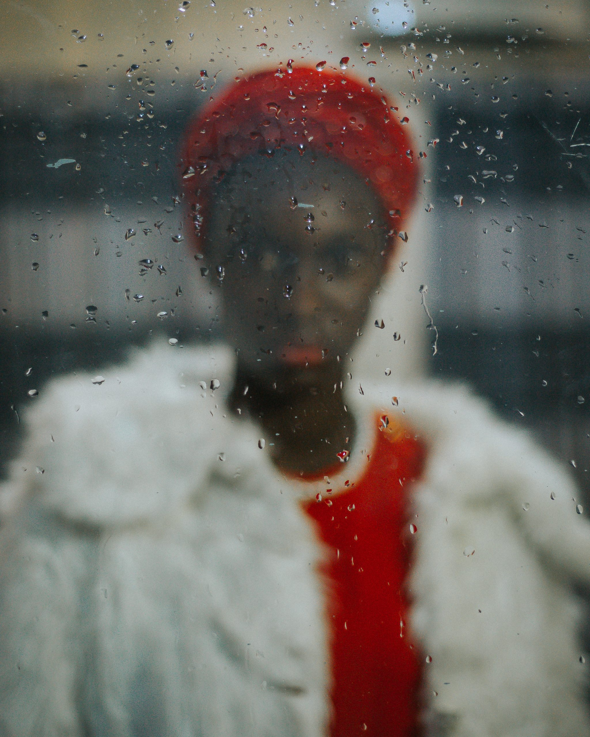 Open Call - fashion color portrait photograph of a woman