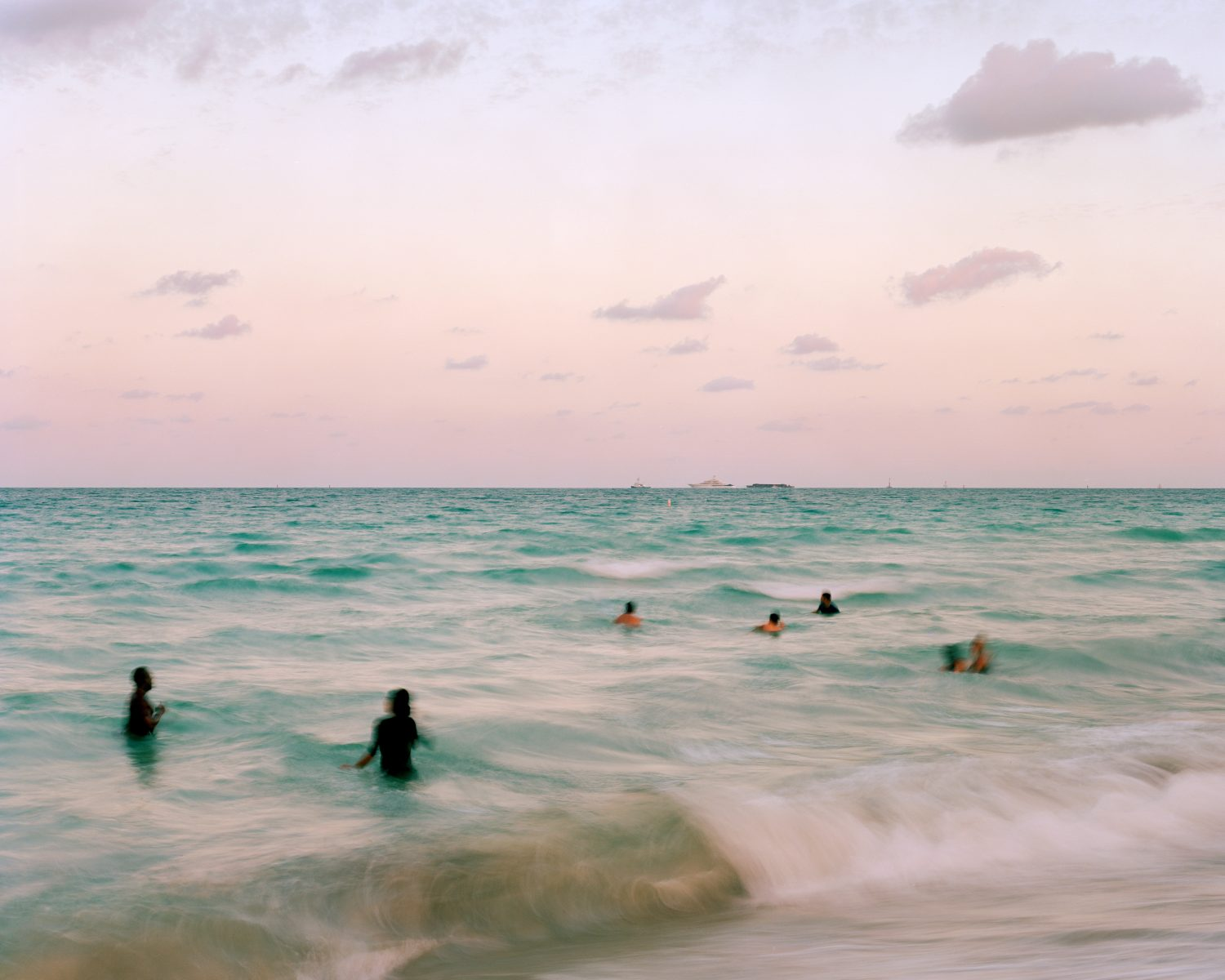 Color Photo, Florida, Climate Change, Bryan Thomas The Sea in The Darkness Calls