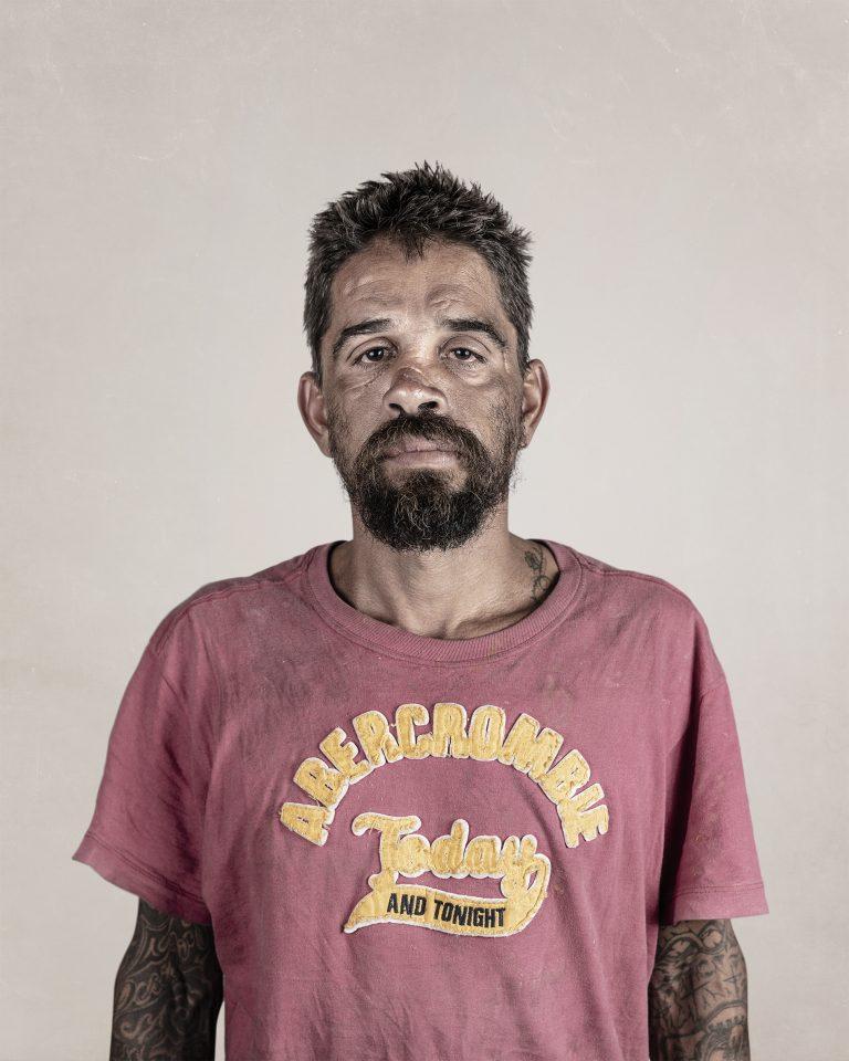 Retrato en color de Gui Christ, hombre, São Paulo