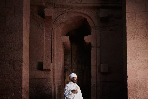 color portrait photograph of a priest a Lalibela, Ethiopia - Visual Storytelling Award