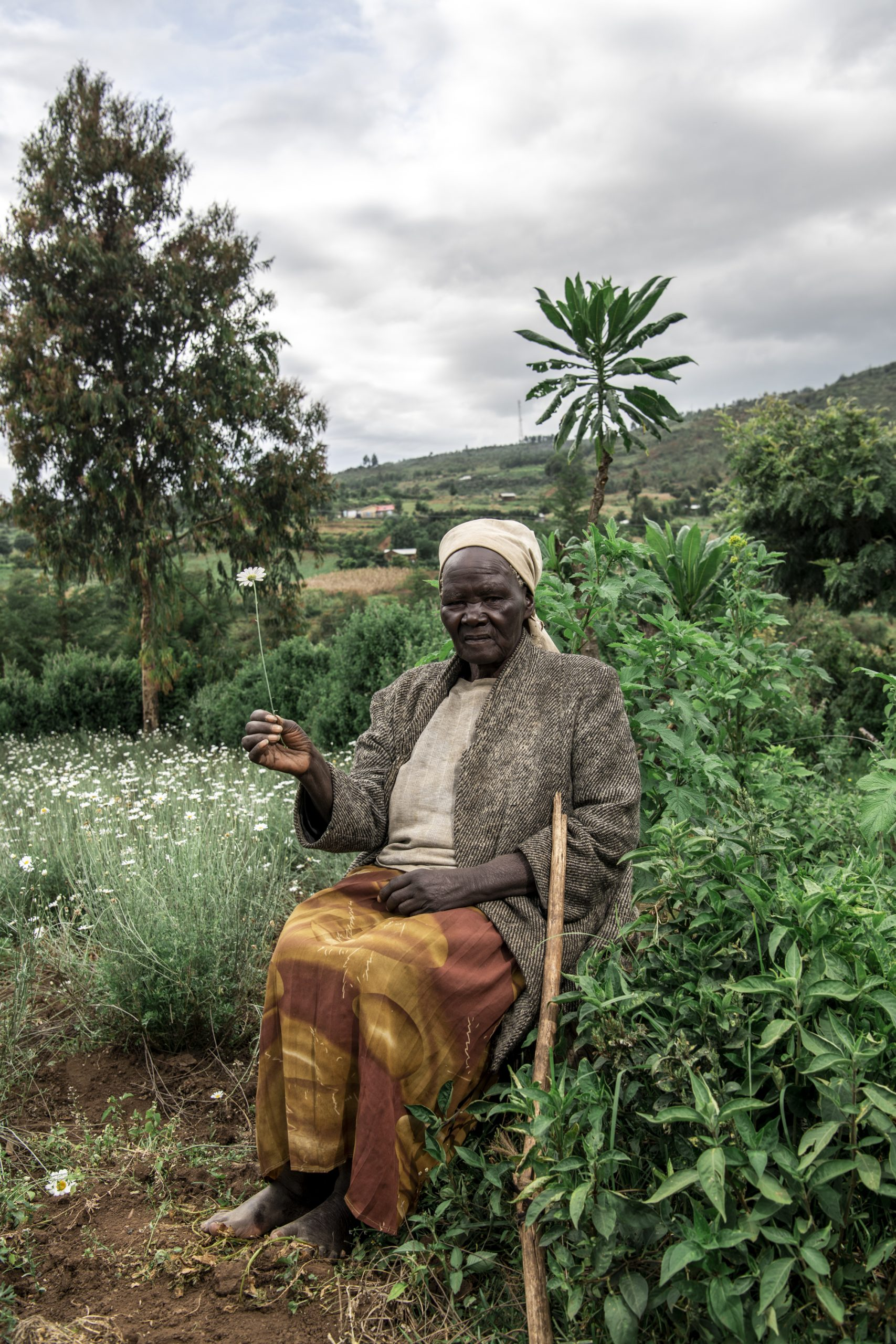 Color portrait photograph of a female farmer in Kenya - Visual Storytelling Award
