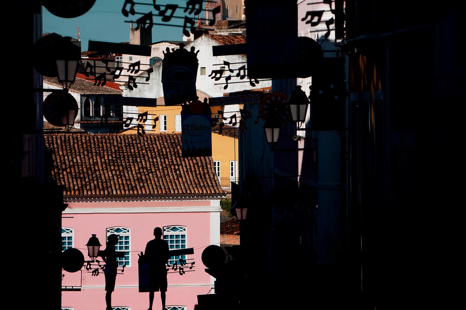color photo by Alex Almeida from Brazil Tropical light. street.scene.