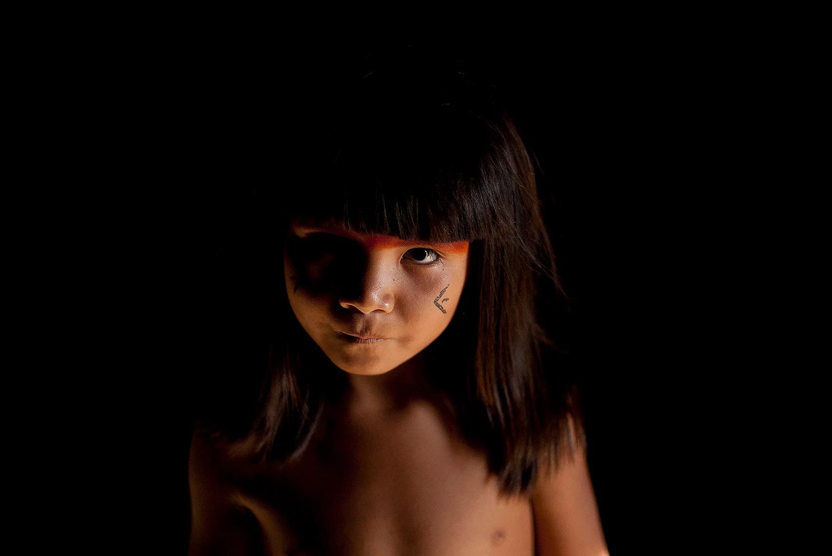 color photo by Alex Almeida from Brazil Tropical light. child, portrait