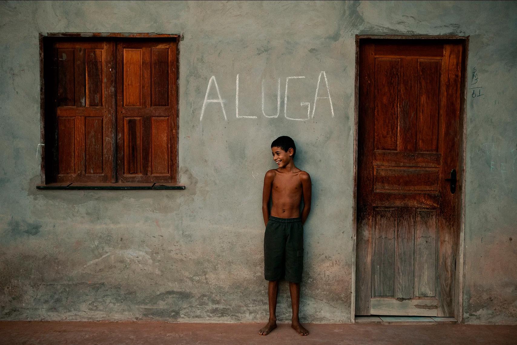 color photo by Alex Almeida from Brazil Tropical light. boy.