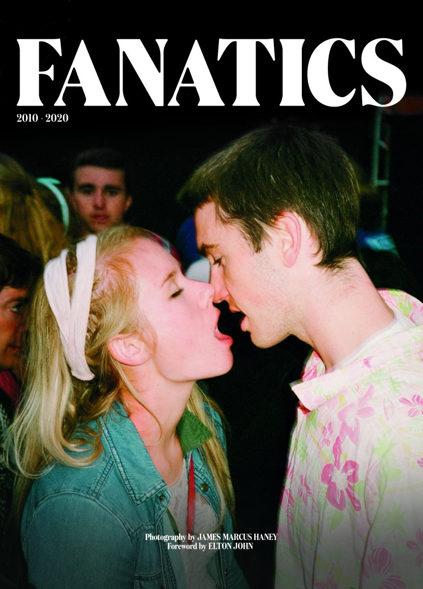 cover of photo book Fanatics by James Marcus Haney