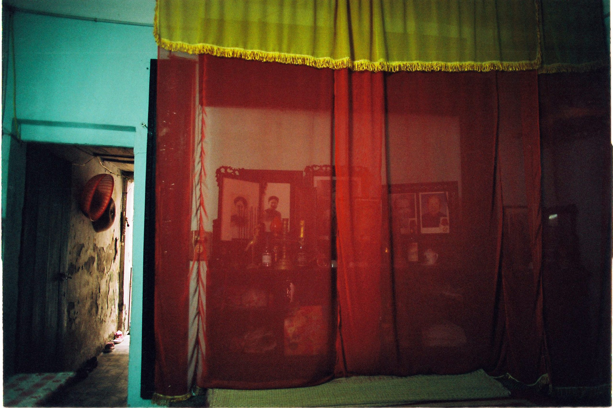 Color photo by Maika Elan from Inside Hanoi.Altar.