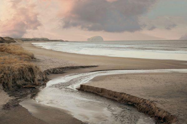 lanscape color photograph of East Lothian, Scotland by Fran Mart