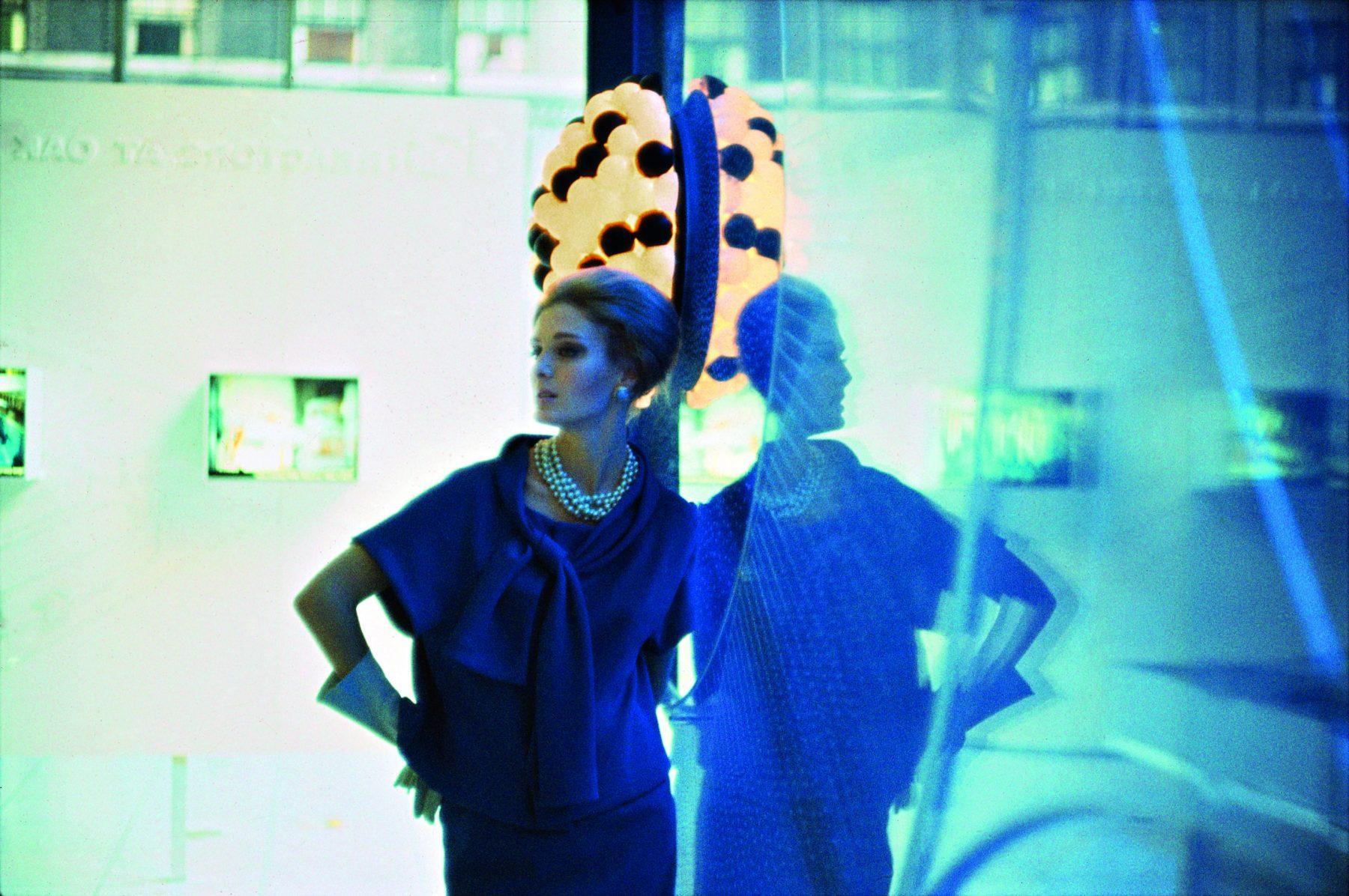 布鲁斯戴维森的彩色照片,时尚,女人, Vogue,60年代