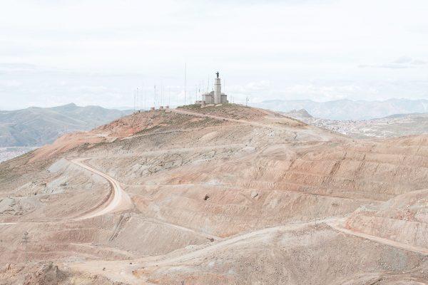 color landscape photograph of Cerro Rico de Potosí, Bolivia